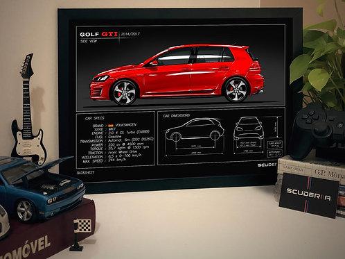 VW GOLF GTI MK7 - DATA SHEET