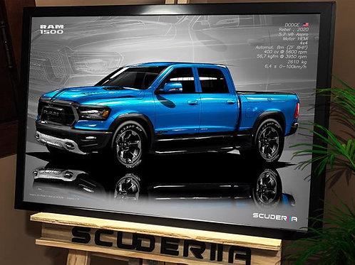 DODGE RAM 1500 REBEL 2020 - PERSPECTIVE