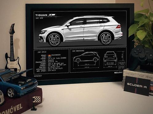 VW TIGUAN RLINE - DATA SHEET