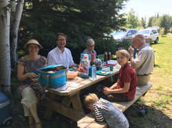Picnic after the service