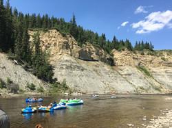 Family Camp at the Pembina River