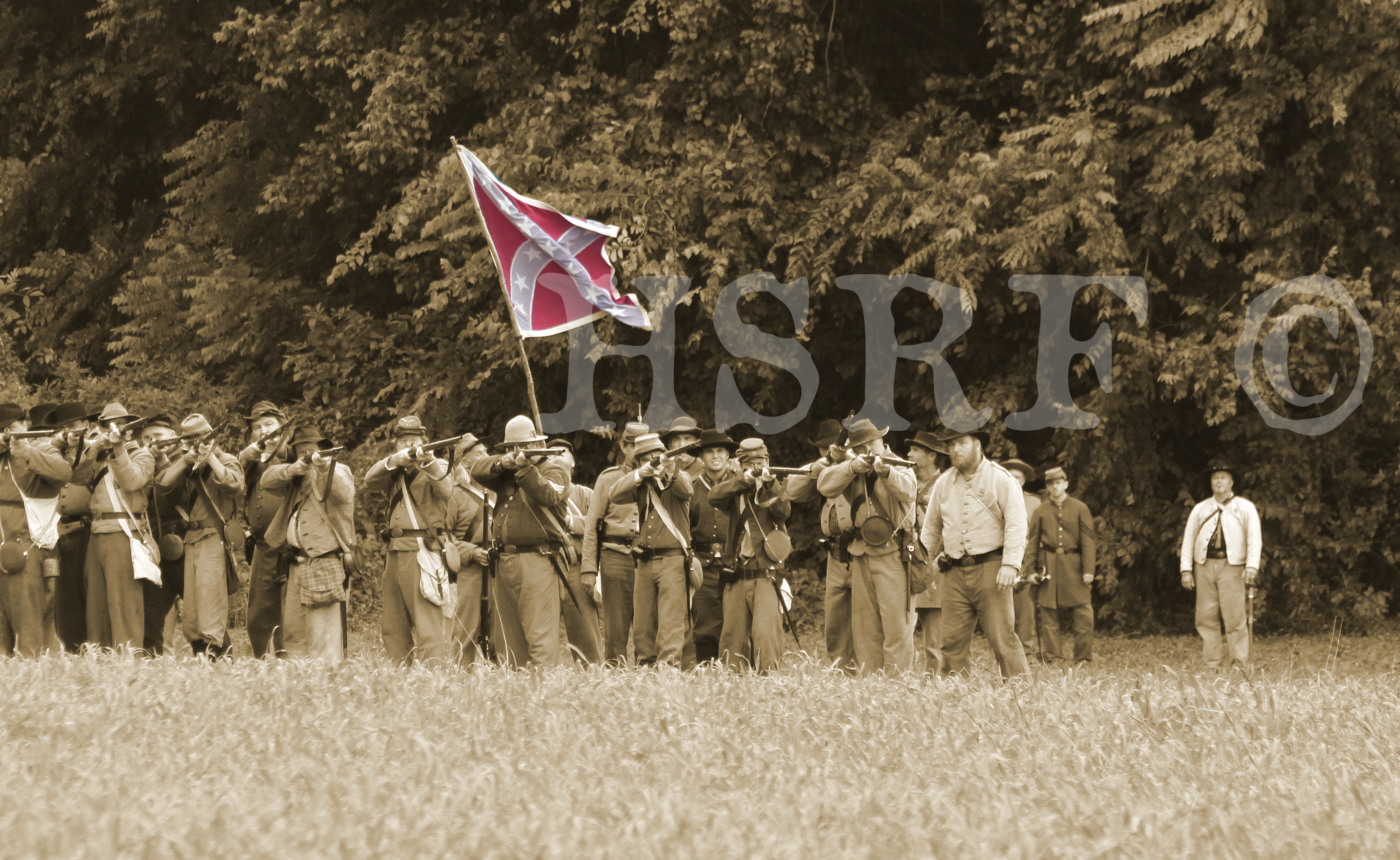 150th Anniversary - Reenactment