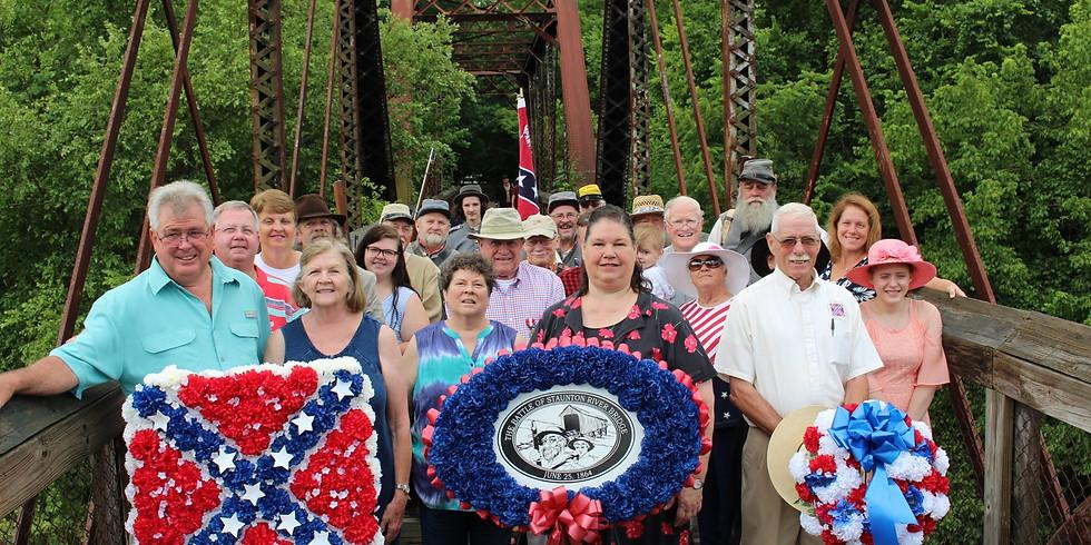 155th Anniversary of the Battle of Staunton River Bridge