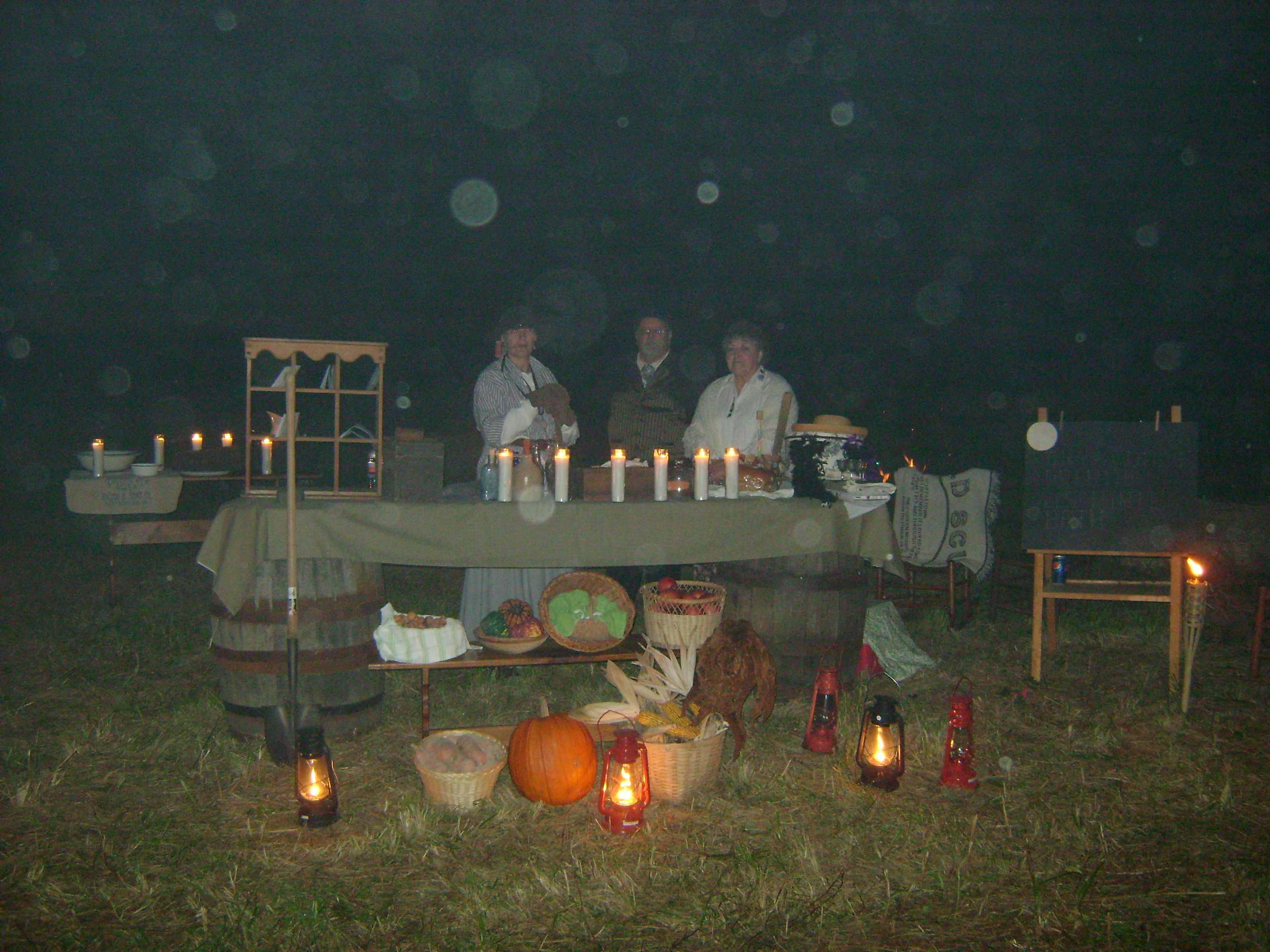 Haunted Harvest Hayride 2010