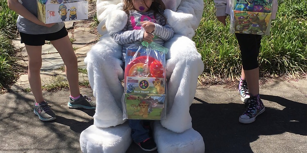 Lunch with Easter Bunny-Cancelled due to rain