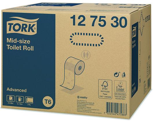 Tork Papier toilette rouleau Mid-size Advanced
