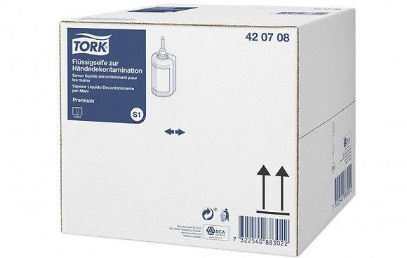 Tork Savon liquide décontaminant pour les mains (Biocide)