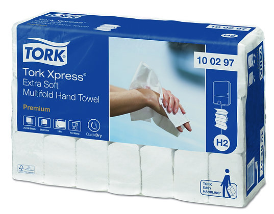 Tork Xpress Essuie-mains Multifold Extra-Doux