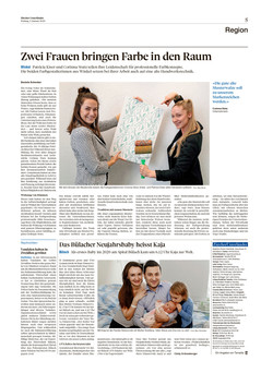 Zeitung Zürcher Unterländer