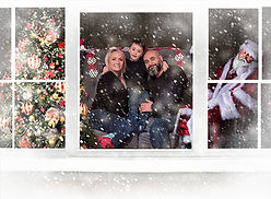 Magical Christmas Window psd file altere