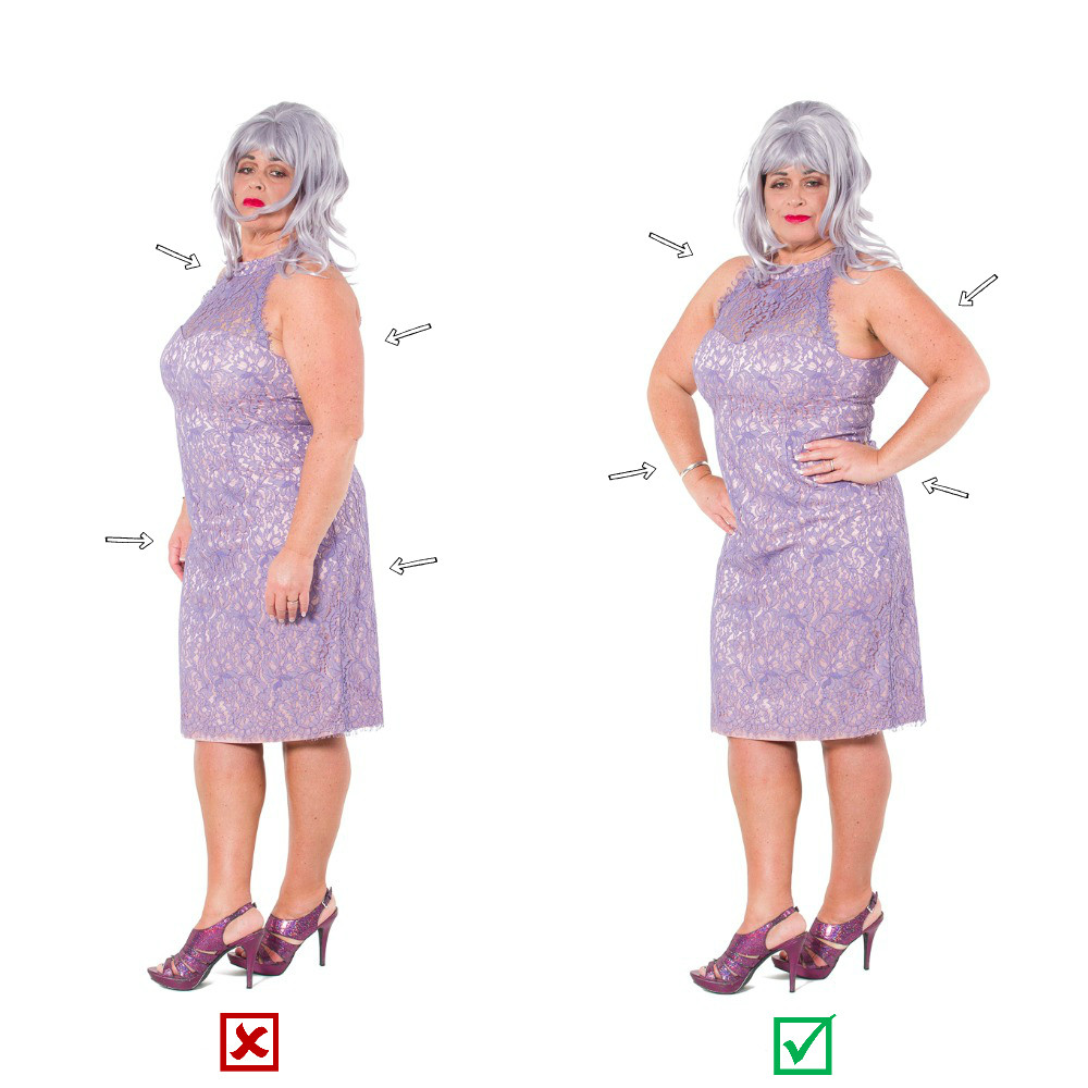 Woman posing, posing tips and tricks