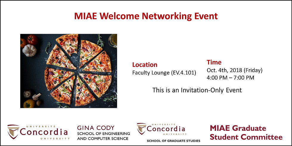 MIAE Welcome Networking Event