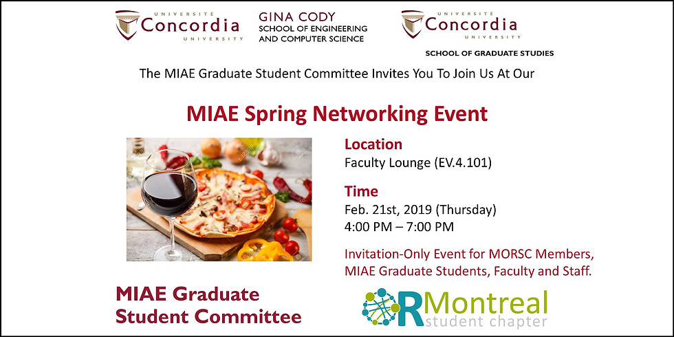 2019 MIAE Spring Networking Event