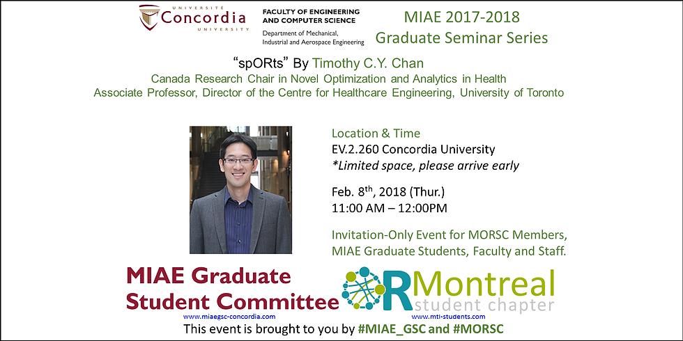 MIAE 2017-2018 Graduate Seminar 7