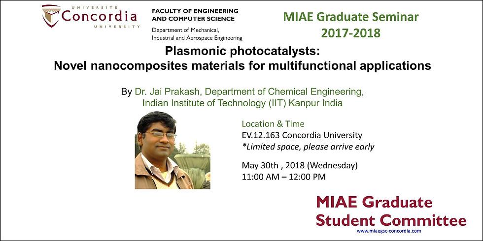 MIAE 2017-2018 Grad Seminar
