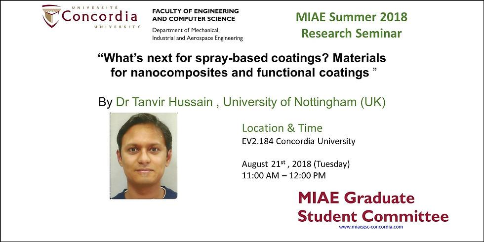 MIAE 2018 Summer Seminar  2