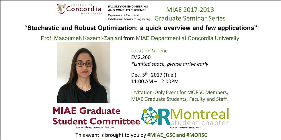 MIAE 2017-2018 Graduate Seminar 4