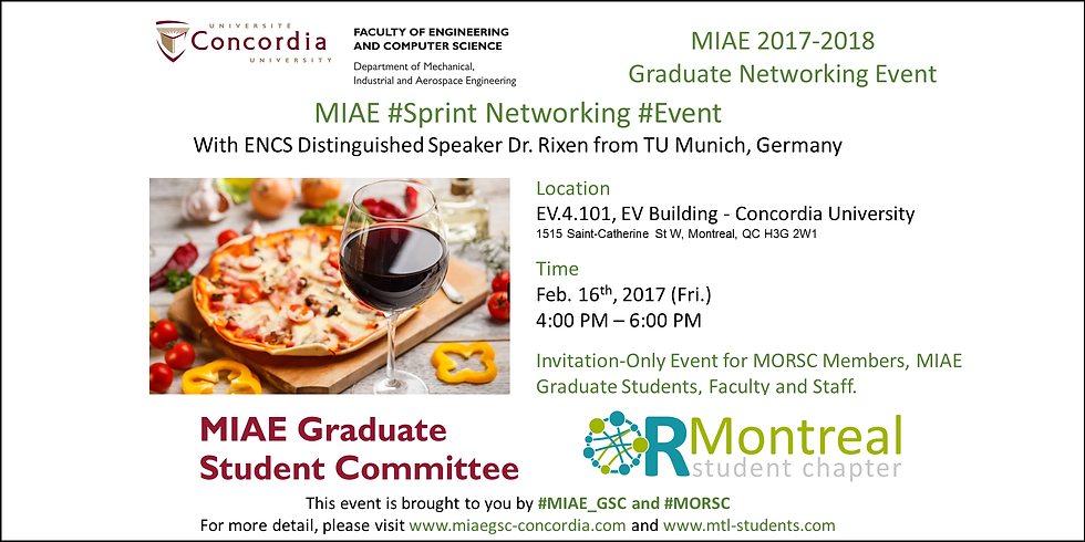 MIAE Spring Networking Event