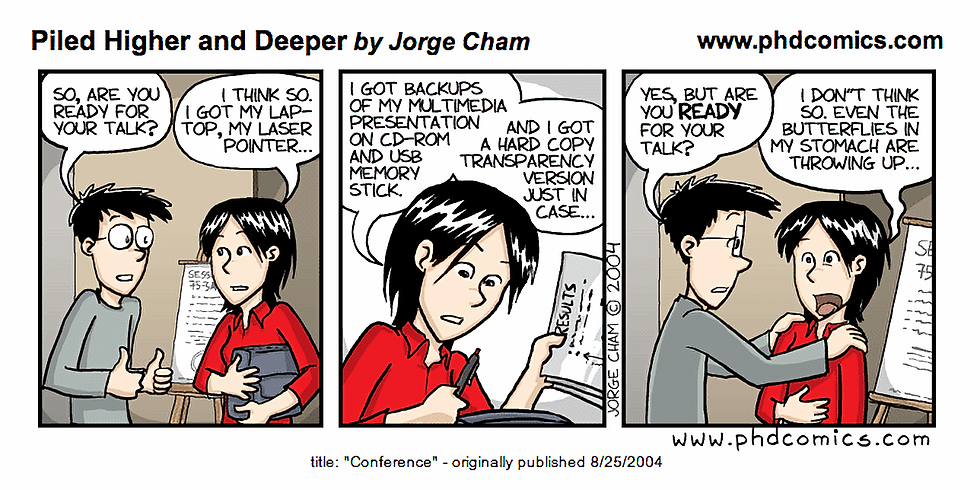 Special Seminar with Jorge Cham from Ph.D. Comics