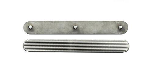 Taktile indikatorer - Rustfritt stål med pinner