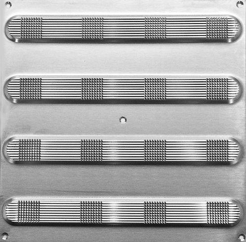 Taktile indikatorer - Rustfritt stålplate