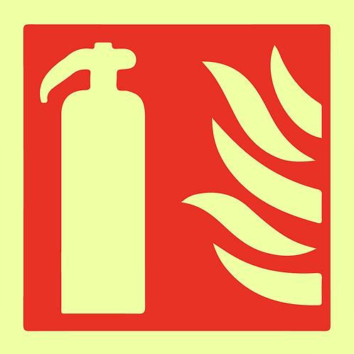 Brannskilt - Håndslukker