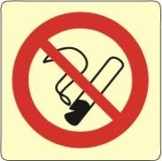 Forbudskilt - Røyking forbudt