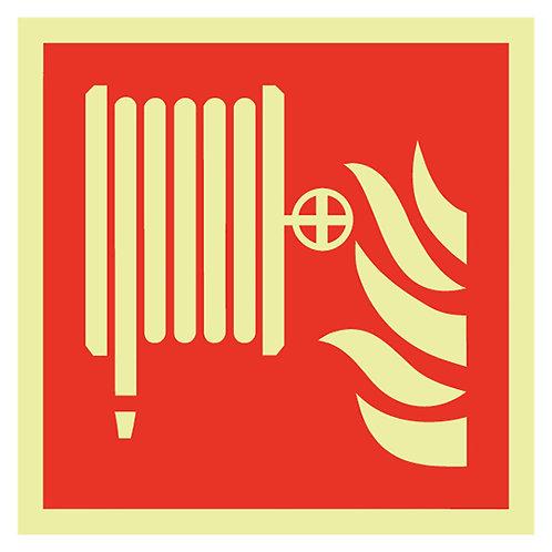 Brannskilt - Slange