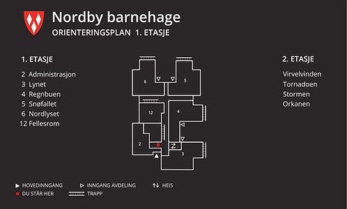 Nordby barnehage Orienteringsplan / HS601
