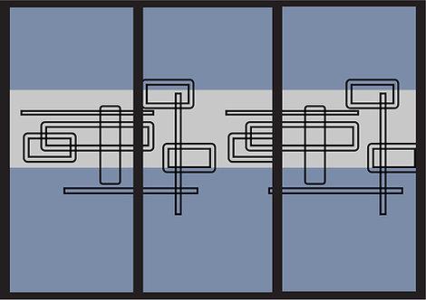 Glassfoliering - Mønster