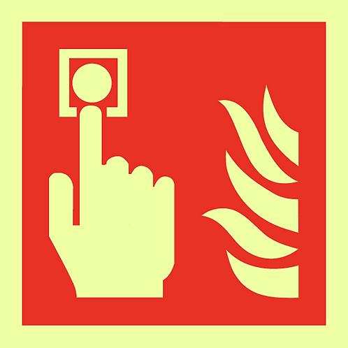 Brannskilt - Varsler