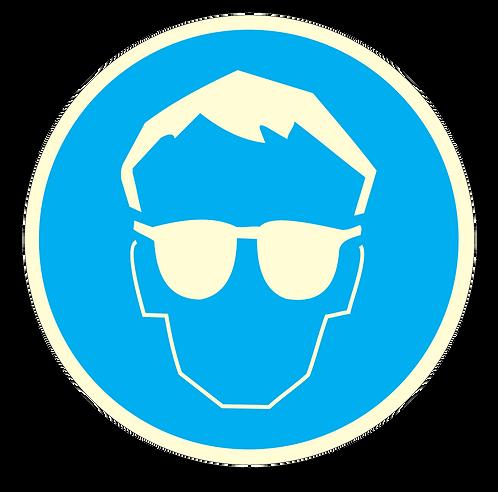 Bygg og anlegg - Vernebrille påbudt!