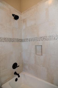 Guest Bath Tile Accent
