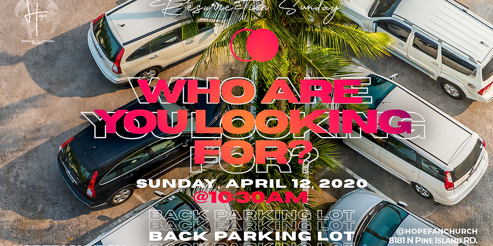 Who Are You Looking For? Resurrection Sunday