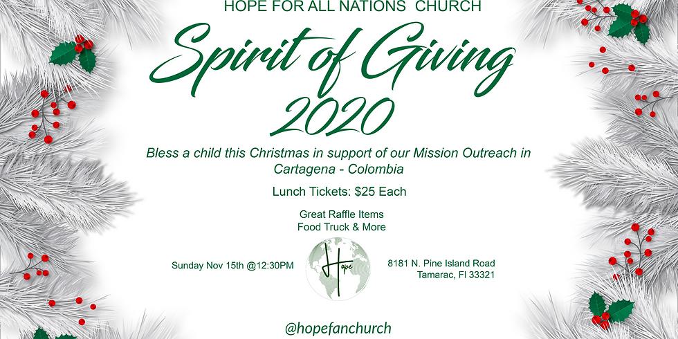 Spirit of Giving 2020