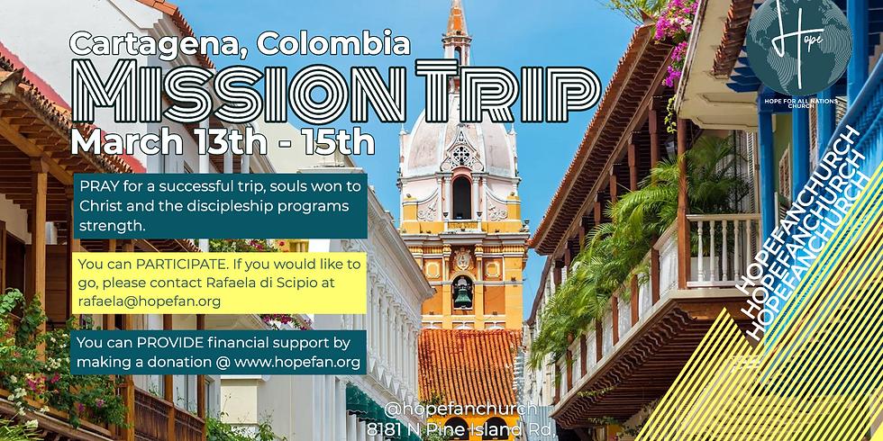 Cartagena, Colombia Mission Trip