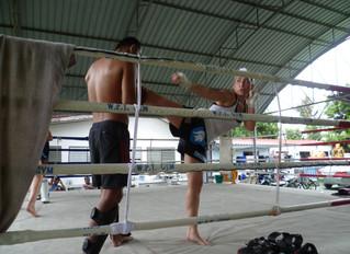 Muay Thai Debut in Patpong Strip Club