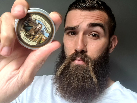 """""""Hamish"""" or """"A Miss?"""" beard oil and balm combo"""