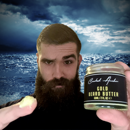 """A """"Gold"""" Beard Butter by Crooked Anchor"""