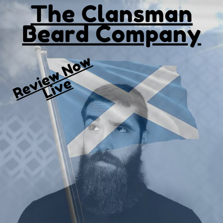 Blood Orange Soaked Beard Butter By Clansman Beard Company