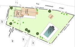 Extension d'une maison Hautefort