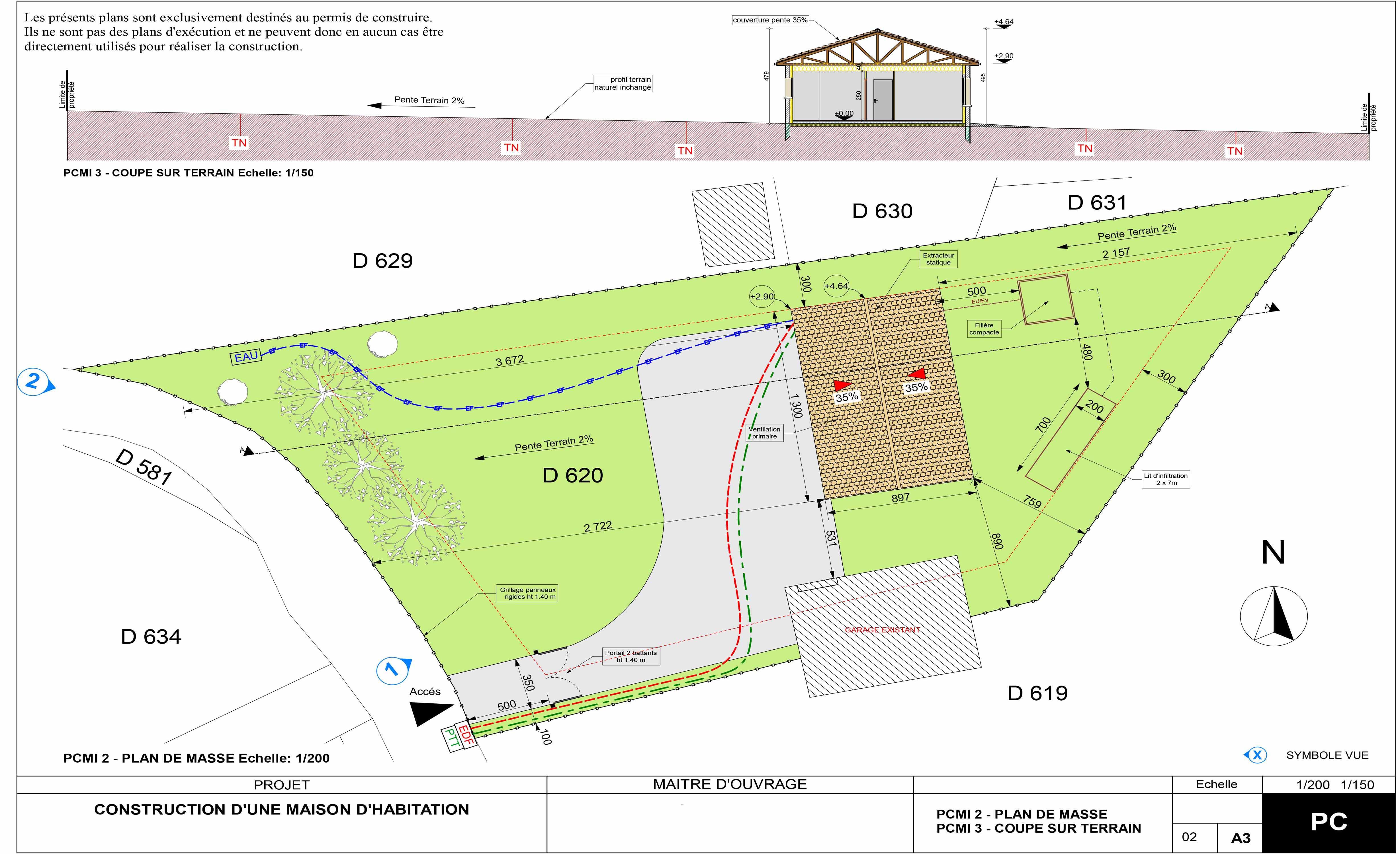 Construction maison de 90m²