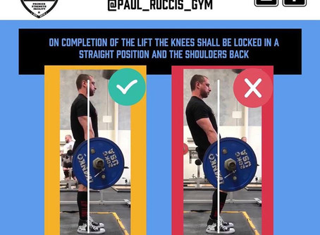 Deadlift Lockout
