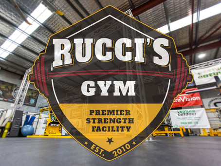 Rebranding to Rucci's Gym