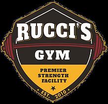 rucci's gym logo