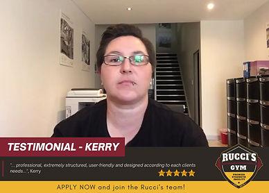 Testimonial - Kerry