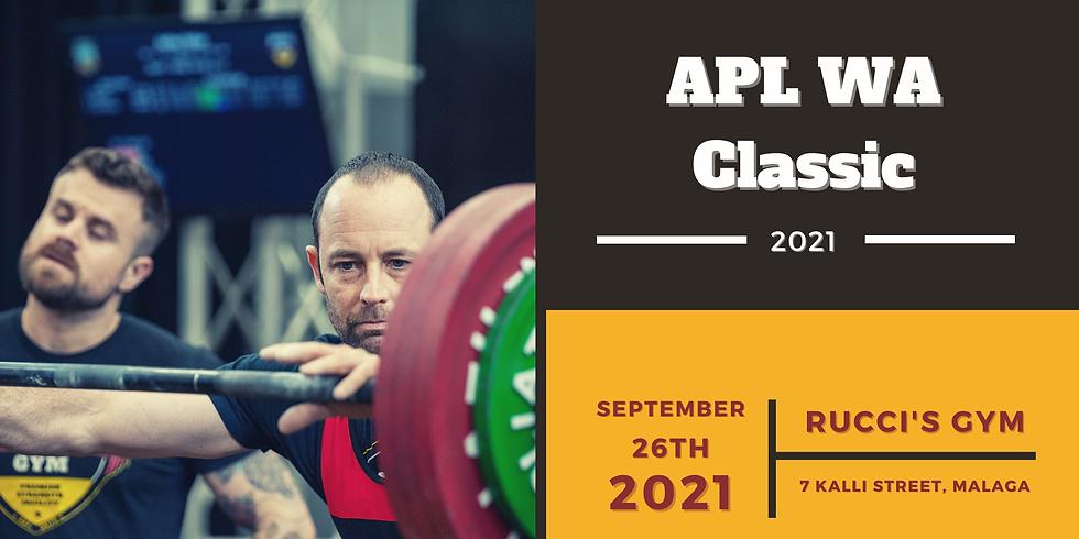 2021 APL WA Classic