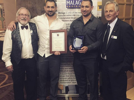 People's Choice Runner-Up at the 2015 Malaga Business Excellence Awards