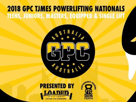2018 GPC TJMES Powerlifting Nationals