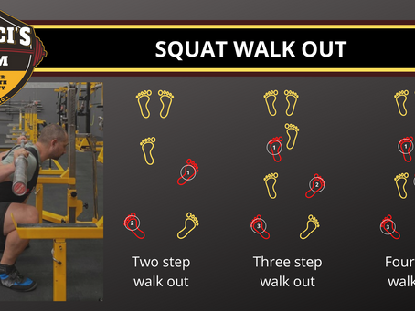 The Squat Walk Out